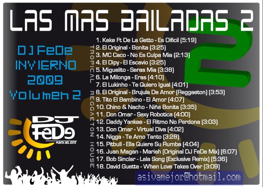 las mas bailadas 2
