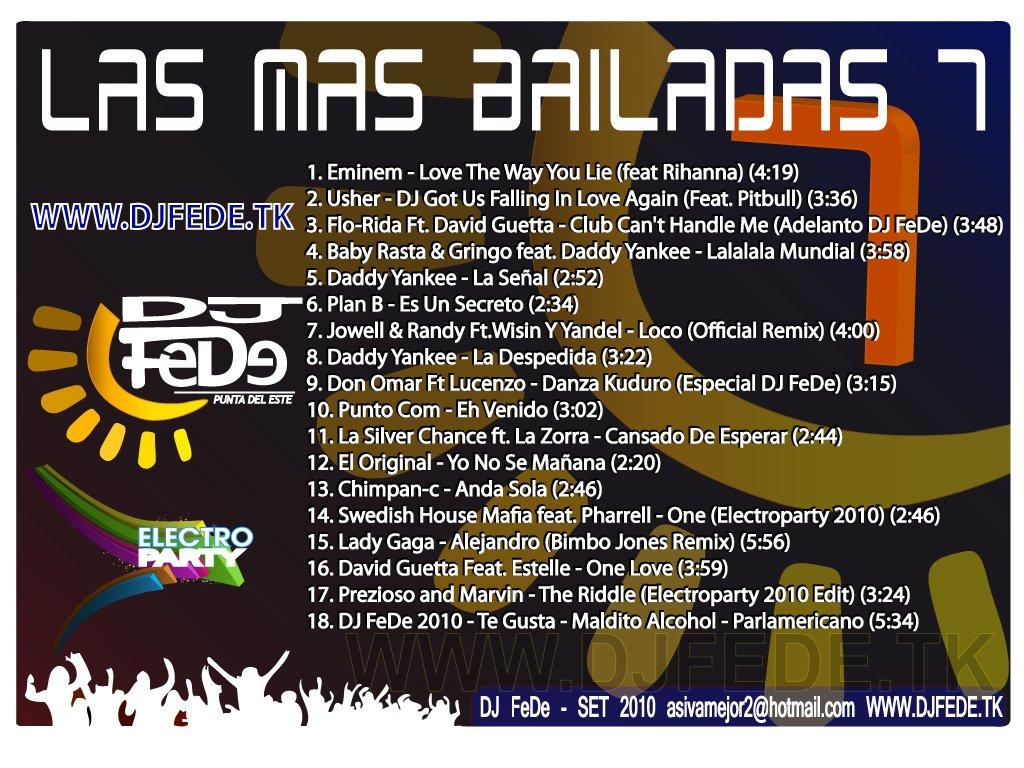 Las Mas Bailadas 7