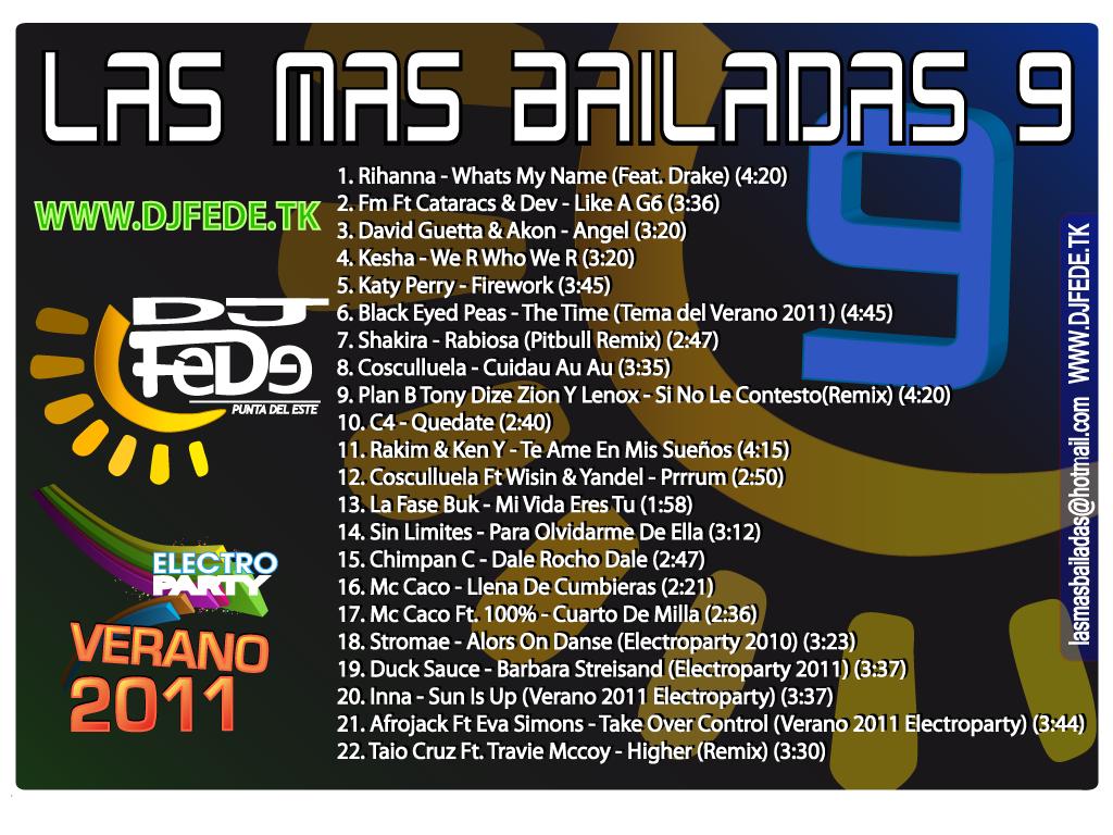 las mas bailadas 9