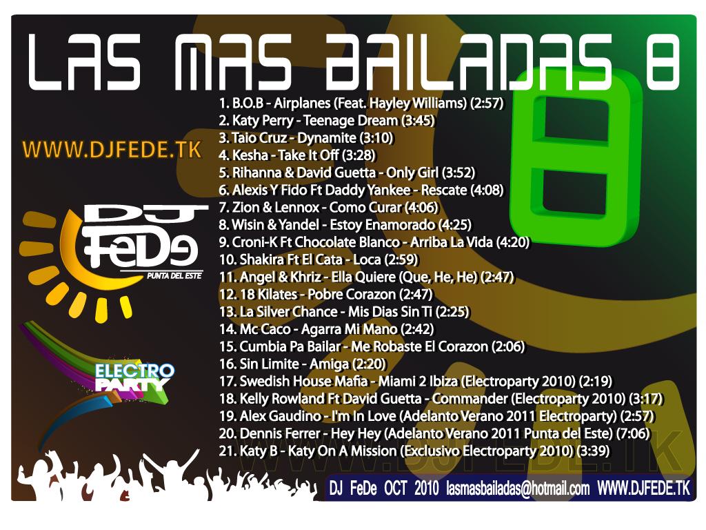 las mas bailadas 8